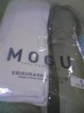 MOGUの枕。高かった。